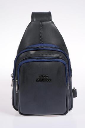 Sergio Giorgianni Luxury Sg25032019 Lacivert Kadın Sırt Çantası