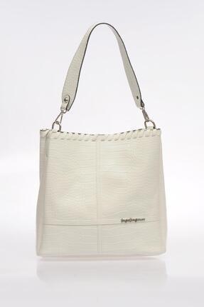 Sergio Giorgianni Luxury Sg1082019-1 Beyaz Kadın Omuz Çantası