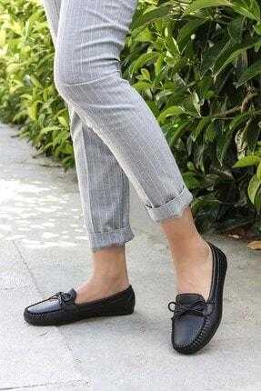 Fast Step Siyah Kadın Babet Ayakkabı 933za100