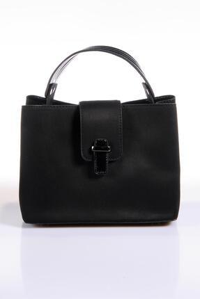 Sergio Giorgianni Luxury Td566 Siyah Kadın Omuz Çantası