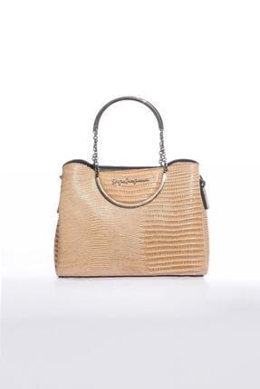 Sergio Giorgianni Luxury Sg0715 Bej Kadın Omuz Çantası