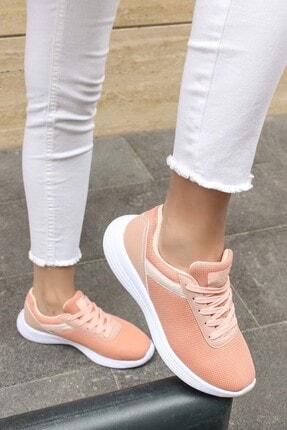 Fast Step Somon Beyaz Kadın Sneaker Ayakkabı 925za240