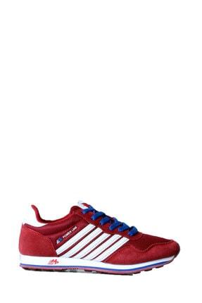 MP 161-1354 M.p Bayan Bordo Günlük Spor Ayakkabı