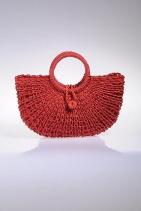 Sergio Giorgianni Luxury Sghsr1019 Kırmızı Kadın Omuz Çantası