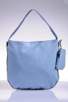 Sergio Giorgianni Luxury Sgy4473 Mavi Kadın Omuz Çantası