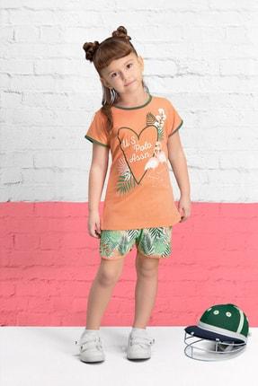 U.S Polo Assn. Lisanslı Yavruağzı Kız Çocuk Şort Takım