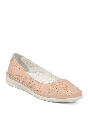Tergan Pudra Deri Kadın Ayakkabı 64335a67