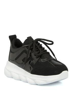 Tergan Siyah Vegan Kadın Ayakkabı 64473d62