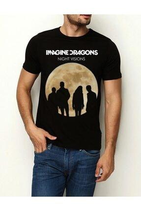 Köstebek Imagine Dragons Unisex T-shirt