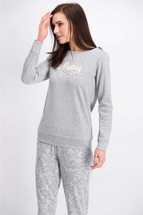 Arnetta Açık Gri Lace Always Kadın Pijama Takımı