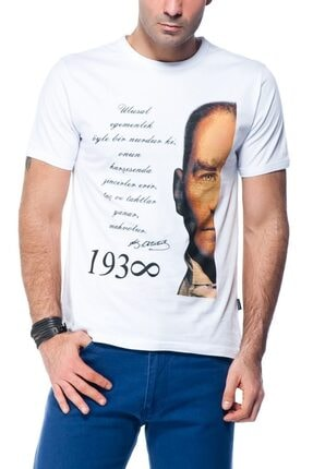 Köstebek Mustafa Kemal Atatürk - Ulusal Egemenlik Unisex T-shirt