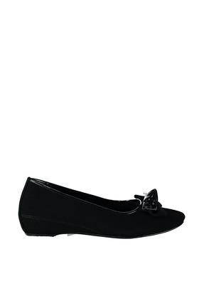 Bambi Siyah Kadın Klasik Ayakkabı E0271030306
