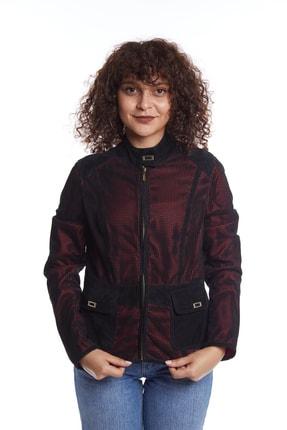 Deriderim Kadın Deri Ceket Siyah Azra