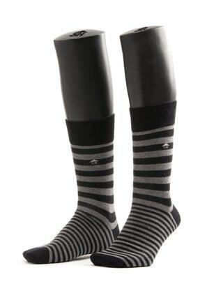 The Socks House Çift Çizgi Desenli Çorap