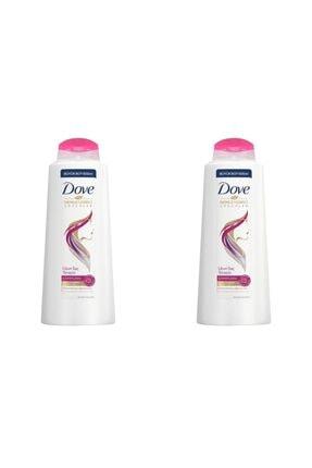 Dove Uzun Saç Terapisi Saç Bakım Şampuanı 600 ml 2'li Paket