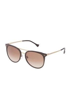 Police Unisex Kahverengi Güneş Gözlüğü Spl153n54ggny