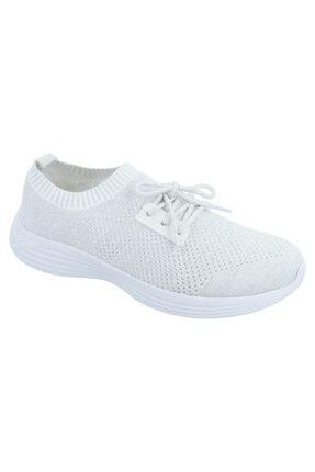 Jump Beyaz Kadın Günlük Spor Ayakkabı