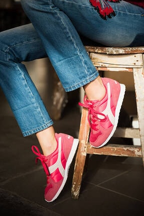 Diadora K_run Kadın Pembe Günlük Spor Ayakkabı - 15955445041