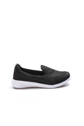 Fast Step Siyah Beyaz Kadın Yürüyüş Ayakkabı 925za1017