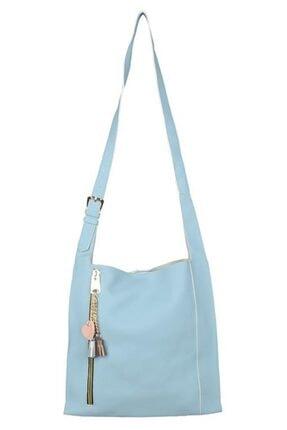 Sergio Giorgianni Luxury Sgım147 Mavi Kadın Omuz Çantası