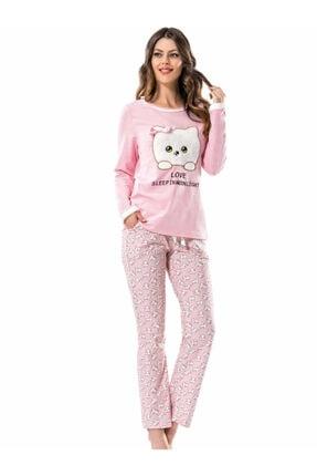 ERDEM 8542 Bayan Baskılı Pijama