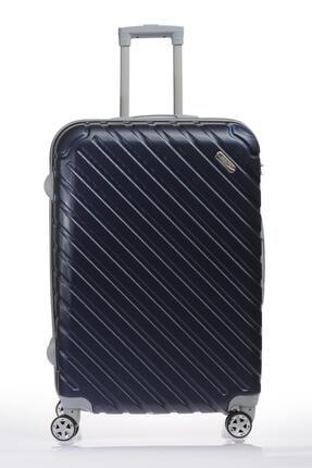 Escape  Escabs070-l Lacivert Unısex Büyük Boy Bavul