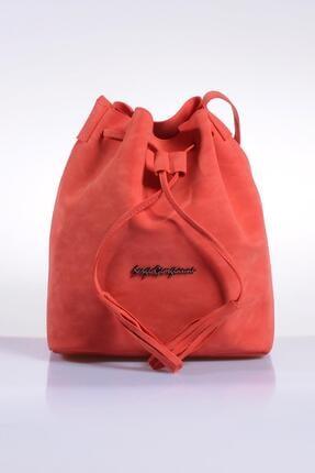 Sergio Giorgianni Luxury Sg1867 Mercan Soft Kadın Omuz Çantası