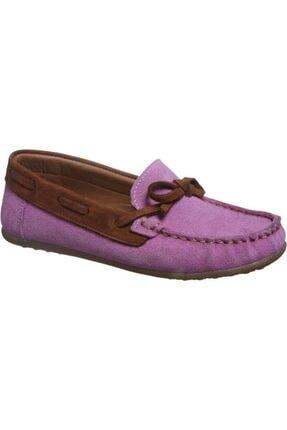 Sanbe 318 J 3601 31-35 Deri Ayakkabı-pembe
