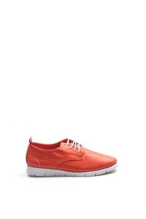 Fast Step Kadın Kırmızı Hakiki Deri Casual Ayakkabı 942za21m1053