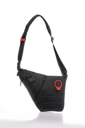 Milkshake Mp9130 Siyah Kırmızı Unısex Body Bag