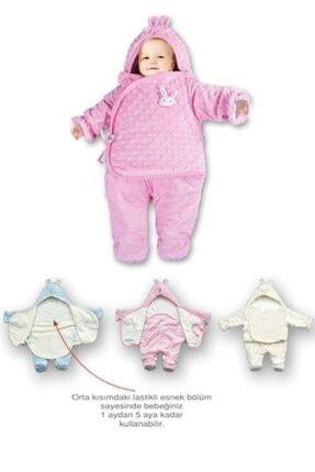 Sevi Bebe Ayaklı Kundak Battaniye Unisex Desenli