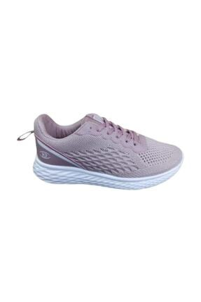 MP Kadın Pudra Triko Spor Yürüyüş Ayakkabısı Locus Sports Casual