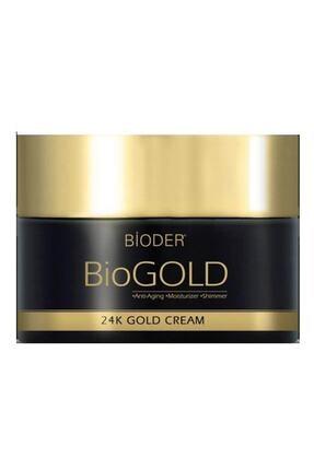 Bioder Yaşlanma Karşıtı Biogold 24k Gold Cream 50 ml