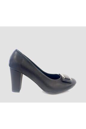 Punto 544766 Kadın Kalın Topuklu Ayakkabı