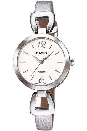 Casio Kadın Gümüş Kol Saati Ltp-e402l-7a