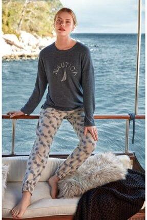 Nautica Ntw025 Pijama Takım