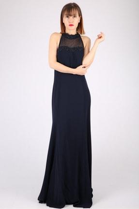 Günay Kadın Abiye Elbise Tn7700 Askılı-lacivert