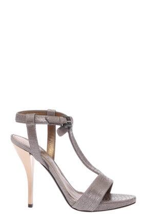 Lanvin Gümüş Rengi Sandalet