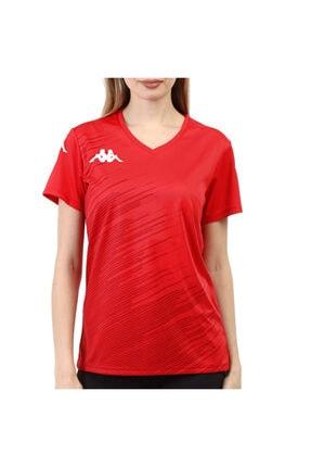 Kappa Kadın Poly T-shirt Abuw Kırmızı