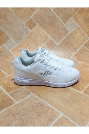 Jump Unisex Beyaz Ortopedic Sneakers Ayakkabı 39 24937