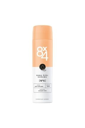 8x4 Bana Özel Koruma No:6 Juicy Splash Kadın Deodorant 150 Ml