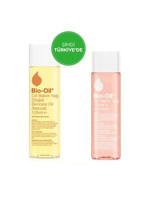 Bio Oil 14 Bitki Özü Içeren %100 Doğal Vegan Cilt Bakım Yağı 125 ml + Cilt Bakım Yağı 125 ml