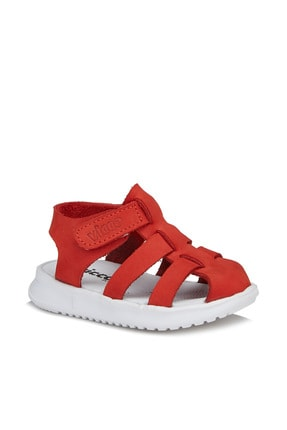 Vicco Pisa Unisex Ilk Adım Kırmızı Sandalet