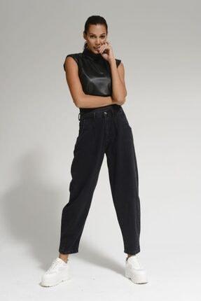 Batik Siyah Kadın Jean Pantolon A1089