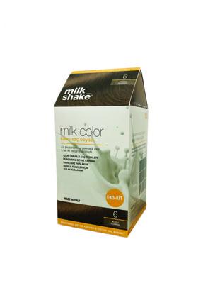 Milkshake Color Eko-kit Koyu Kumral -6 -köpüksüz