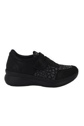 Venüs Siyah Ortopedik Kadın Ayakkabı 1901708y