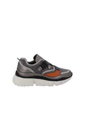 Hobby Prins Gri Kadın Spor Ayakkabı 78