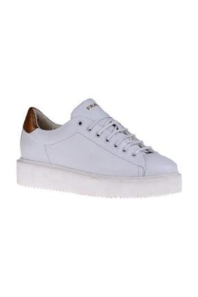 Frau Kadın Beyaz  Sneaker 37h7 Tıbet