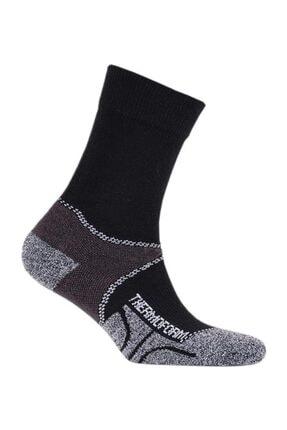 Thermoform Walking Unisex Uzun Çorap Siyah (Hzts3-r001)