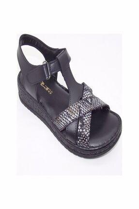Punto Kadın Siyah Comfort Günlük Sandalet